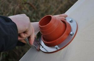 Bell Tent Tipi Yurt Tent Flue Flashing Kit For Frontier and Outbacker stove