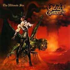 Ozzy Osbourne - The Ultimate Sin Vinyl LP Sticker or Magnet