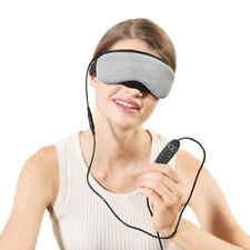 USB Warming Heated Blinder Eye SPA Mask Nap Steam Cover Blindfold Sleeping Aid