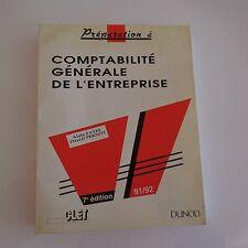Comptabilité générale de l'entreprise Alain FAYEL Daniel PERNOT DUNOD 91 92