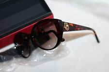 Cartier Oval  TORTOISE /BROWN LENS SUNGLASSES 140