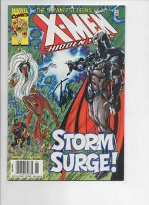 X - MEN THE HIDDEN YEARS  NO.7  NM-  2000  * SIGNED STAN LEE *  MARVEL COMICS