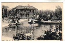 Lake In The Park - Herne Bay Photo Postcard c1940s