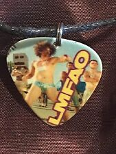 LMFAO Party Rock Guitar Pick Necklace POP MUSIC