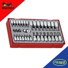 TTBS35 - Teng Tools - 1/4 Inch & 3/8 Inch Drive Bit Socket Set