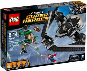 Lego Super Heroes Heroes of Justice: Sky High Battle 76046 Building kit 517 Pcs