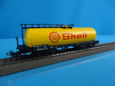 "Marklin 4651 DB Four Axled Tanker Car ""SHELL"" Dark Yellow OVP"