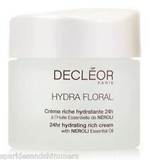 DECLEOR Hydra Floral 24hr Hydrating Rich Cream/Creme Riche Hydratante 50ml