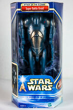 Star Wars Attack of the Clones 12 inch Super Battle Droid New Clean