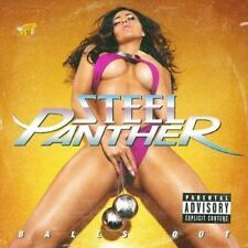 Steel Panther - Balls Out - CD Album Damaged Case