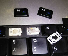 1 SINGLE KEY & HINGED CLIP from Dell Latitude e6410 Laptop Backlit Keyboard
