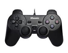 Vakoss Controller mit Vibration-Funktion für PC und PS3 - Schwarz (MN3329BK)