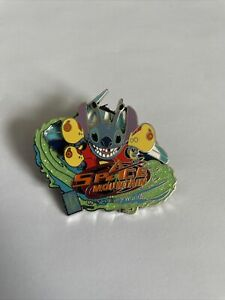 2009 Disney WDW E-Ticket Attractions Stitch Space Mountain LE-1500 Pin