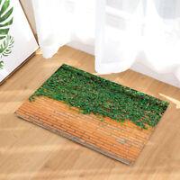 "15X23/"" Kitchen Doormat Non-Slip Mat Rug Bathmats Carpet Color Rhombus Brick 5386"
