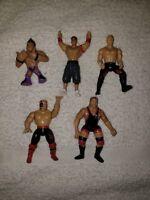 Wwe Minifigure Lot Triple H Owen Cena Hawk Miz wwf vintage figures