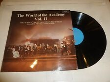 THE WORLD OF THE ACADEMY - Vol 2 - 1971 UK 9-track Vinyl LP