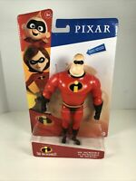 Disney Pixar The Incredibles Mr. Incredible Action Figure NEW Toys Pixar Movie