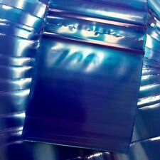 """3MIL 2020 100 ZIP LOCK BLUE COLOR BAGS 2"""" X 2"""" ***3MIL IS 44% THICKER THAN 2MIL"""