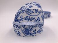 DIY 5 Yard 1'' Chinese style Printed Grosgrain Ribbon Hair Bow Sewing Ribbon