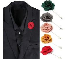 Anstecknadel Pin  Pinnadel Brooch Brosche Blume Satin viel Auswahl  Reversenadel