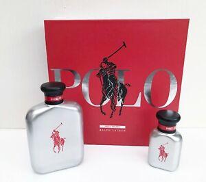 Ralph Lauren Fragrance Polo Red Rush EDT 125ml + 40ml Gift Set, Brand New in Box