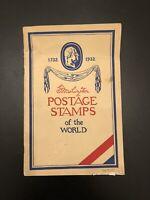 Washington Scott Stamp & Coin Co. VINTAGE COLLECTORS BOOK / ALBUM Copyright 1932