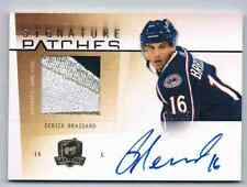 2009-10 THE CUP SIGNATURE PATCHES DERICK BRASSARD AUTO PATCH 2 COLORS 21/75