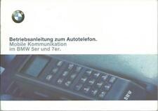 BMW Autotelefon KOMMUNIKATION 1997 für 5er / 7er Bedienungsanleitung Handbuch RN