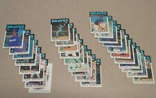 1986 TOPPS ATLANTA BRAVES TEAM SET (28)
