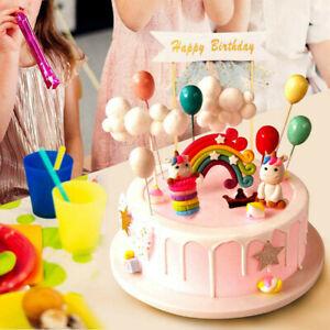 Tortendeko Geburtstag, Einhorn Tortendekoration, Torte Topper, Einhorn Kuchen