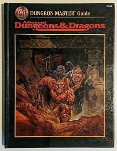 DUNGEON MASTERS GUIDE, AD&D, ADVANCED DUNGEONS & DRAGONS 2.5e, TSR, 2160, H/BACK