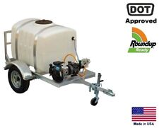 Sprayer Commercial Trailer Mounted 200 Gal Highway Ready Roundup Ready