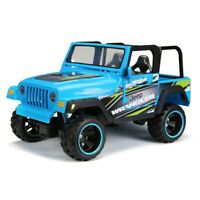 Wrangler Bright Radio Control Rechargeable Jeep 1:16 Scale With Lights & Sounds