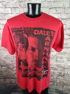 Dale Earnhardt Jr Budweiser Nascar Shirt L 'Coming of Age' Dual Sided Chase USA