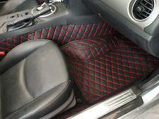 Quilted Leather Floor mats for Mazda Miata MX-5 NC Mk3