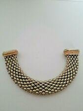 Peach Enamel Magnetic Connectors Bracelet Metallic Bead Chains