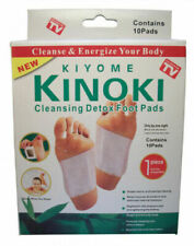 10,Kinoki Detox Foot Patch Pads Feet Patches Remove Body Toxins Wei....