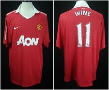 Nike Dri-Fit 2010/11 Manchester United #11 WINE/RYAN GIGGS Soccer Jersey XXL NWT