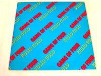 1981 Gang of Four Solid Gold LP Vinyl Record Album BSK 3565