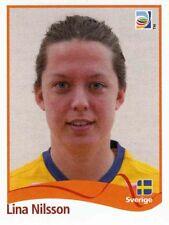 Panini Sticker Frauen Fußball WM 2011 Nr. 239 Lina Nilsson SWE Sverige NEU Bild