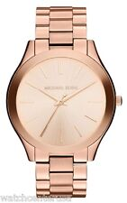 Michael Kors MK3197 Women's  Runway Analog Display Analog Quartz Rose Gold Watch