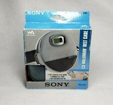 Sony Atrac CD Walkman Belt Case NEW Waist Clip Fanny Pack Strap Discman