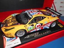 BBRP1837 by BBR FERRARI 458 ITALIA GT2 JMW MOTORSPORT 24HLM 2011 1:18