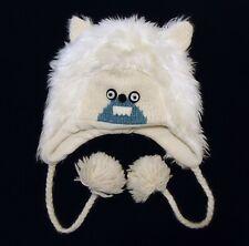 deLux Handmade Winter Hat Monster Abominable Snowman Yeti Wool Blend Fleece