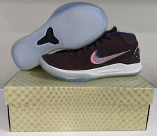 "Kobe AD Mid Nike ""Port Wine"" Basketball Shoes 922482-602 Mens Size 9 New w Box"