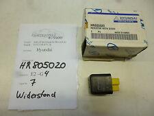HYUNDAI Mitsubishi GALLOPER II Widerstand Resistor HR805020 NEU ORIGINAL