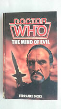 Doctor Who-Mind of Evil by Terrance Dicks (Hardback, 1985)
