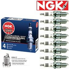 Set 8pc NGK BKR7EIX 2667 Iridium Spark Plug Audi Polaris Porsche BMW Honda Volvo