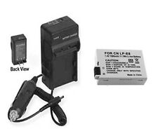 Battery + Charger for Canon EOS Rebel T2i 550D 550 D