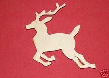 REINDEER LaserWoody Unfinished Flat Wood Shapes 2R330C